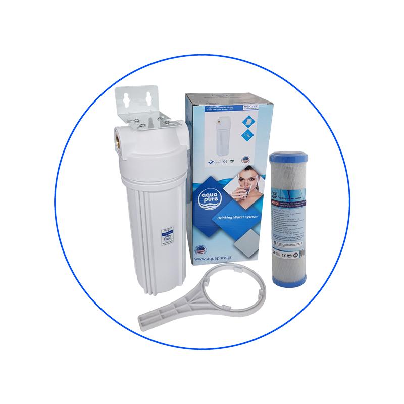 Φίλτρο κάτω πάγκου με πλήρη αντιμικροβιακή δράση APVOC Aqua Pure