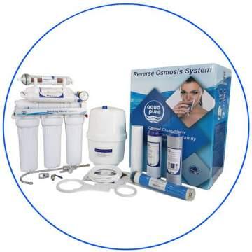 Οικιακή Μονάδα Αντίστροφης Όσμωσης 7 Σταδίων Aqua Pure