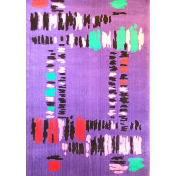 Χαλί CALYPSO 100X150 σχ. 230 χρ. μώβ