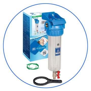 """Φίλτρο Κεντρικής Παροχής Αυτοκαθαριζόμενο Aqua Filter 3/4"""" FHPR34-3V"""