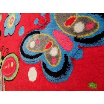 Χαλί AMELIA 133x190 σχ. 1585α χρ. LOW RED