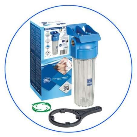 Φιλτροθήκη Μονή 10″ επαγγελματική FHPR-HP1 3/4″ Aqua Filter