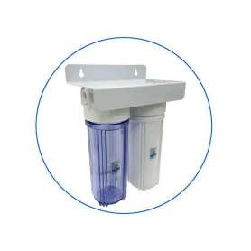 Φιλτροθήκη Διπλή Κεντρικής Παροχής 10″ Aqua Pure 2SST