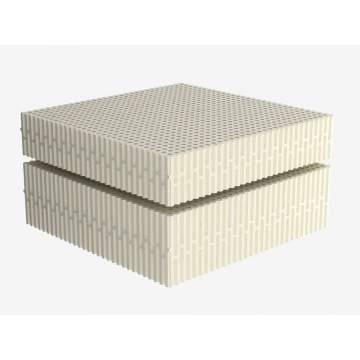 Στρώμα Dunlopillo EXCLUSIVE GRAY από 100% Φυσικό Τalalay Latex, Μονό 80-90X200cm