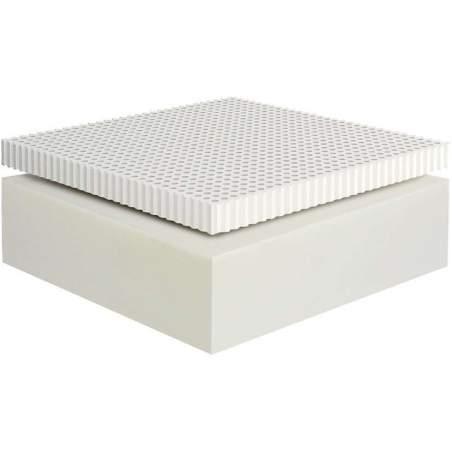 Στρώμα Dunlopillo ALPINE από  Φυσικό Τalalay Latex+Foam Υπέρδιπλο 181-190X200cm