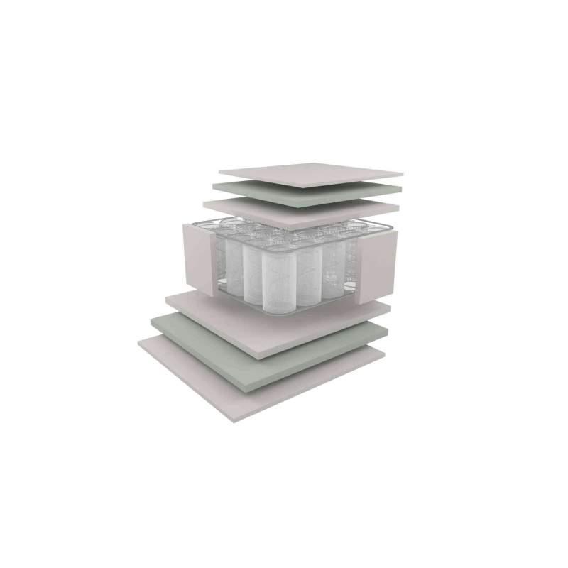 Στρώμα Dunlopillo VALUE PLUS με ανεξάρτητα ελατήρια Ημίδιπλο 131-140Χ200cm