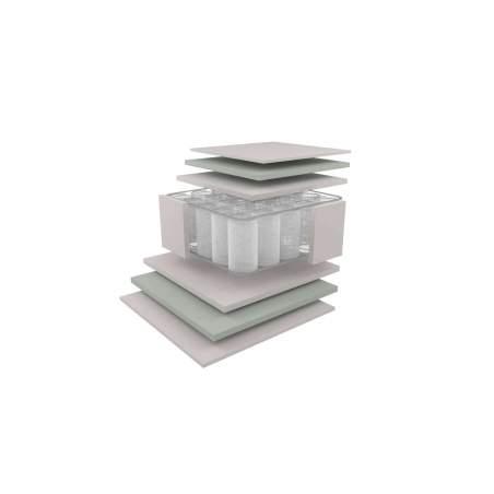 Στρώμα Dunlopillo VALUE PLUS με ανεξάρτητα ελατήρια Υπέρδιπλο 161-170Χ200cm