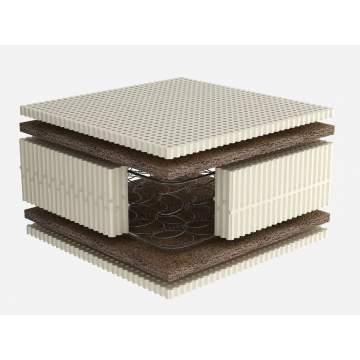 Στρώμα Dunlopillo RICHMOND, με ελατήρια+Κοκοφοίνικα+Talalay Latex Υπέρδιπλο 161-170/200cm