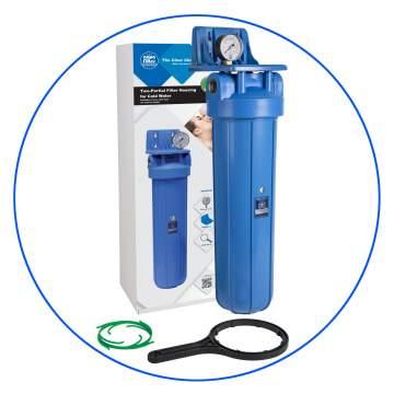 Φιλτροθήκη Κεντρικής Παροχής Big Blue FH20B-WB 20″ Aqua Filter