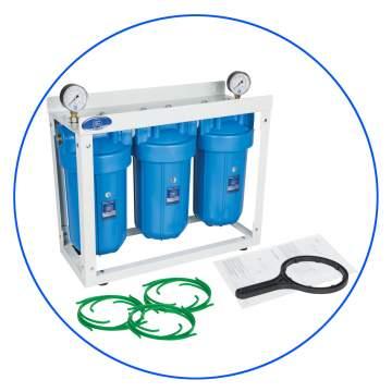 Φιλτροθήκη Τριπλή Big Blue 10″ HHBB10B