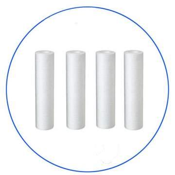 Φίλτρα Ιζημάτων-Στερεών Σωματιδίων FCPS5 5micron 10″ Σετ 4 τεμ. της AQUA FILTER(USA)