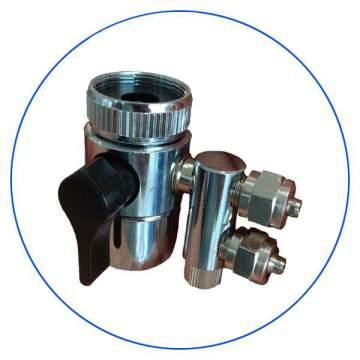 Διανομέας Συσκευής Άνω Πάγκου Aqua Pure 1/4″ DT-03