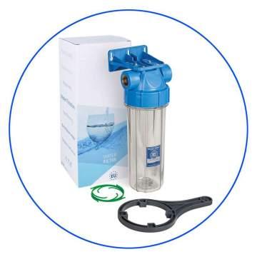 Φιλτροθήκη Μονή 10″ Κεντρικής Παροχής FHPR34-HP1 3/4″ Aqua Filter