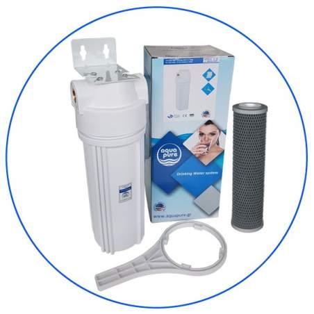 Φίλτρο Κάτω Πάγκου Απευθείας Σύνδεσης στη Βρύση της Κουζίνας με Φίλτρο FCCBL-S Aqua Pure