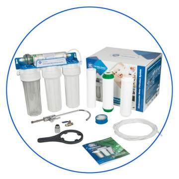 Σύστημα Παραγωγής Αλκαλικού Νερού 4 Σταδίων Alkaline 4ST