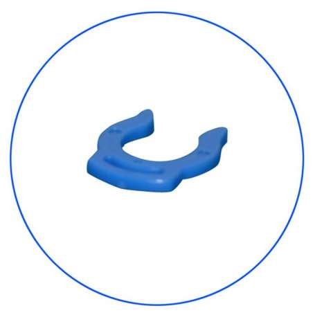 Clip Ασφαλείας 1/4 AQ-AxLC-BL