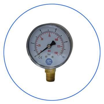 Μανόμετρο 1/4″ KCGA-1 της Aqua Filter